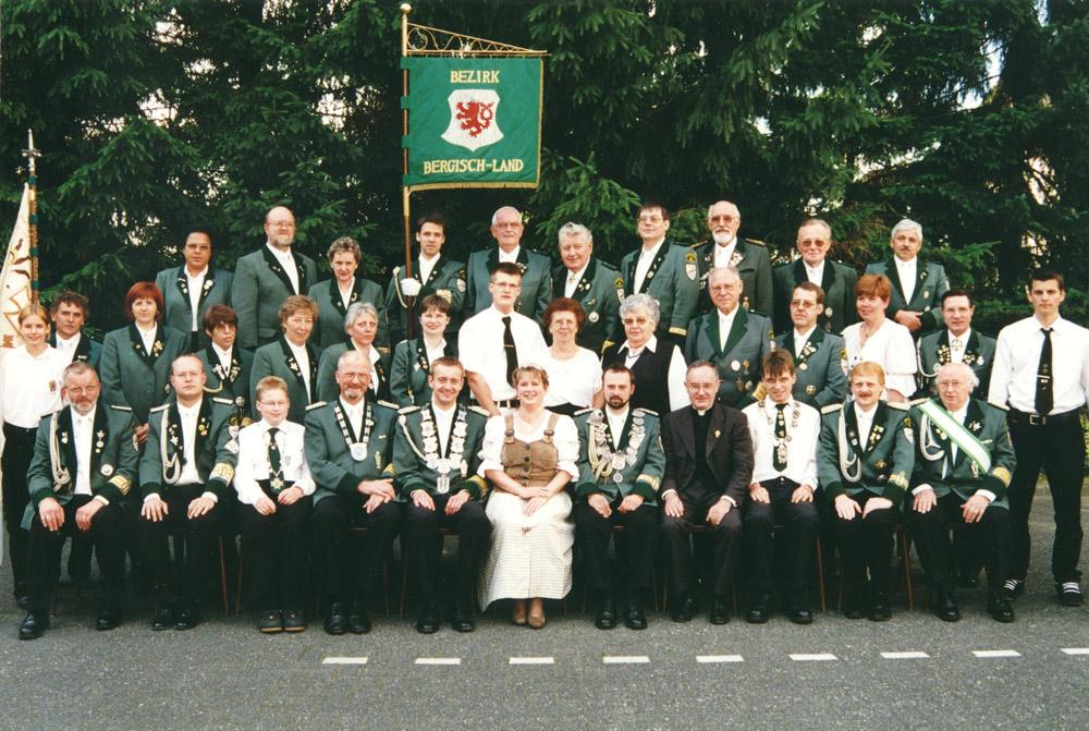Vereinsfoto aus dem Jahre 2000